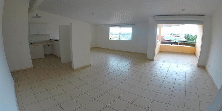 Appartement T2 – 57,92 M² – 120 000 € – Cayenne
